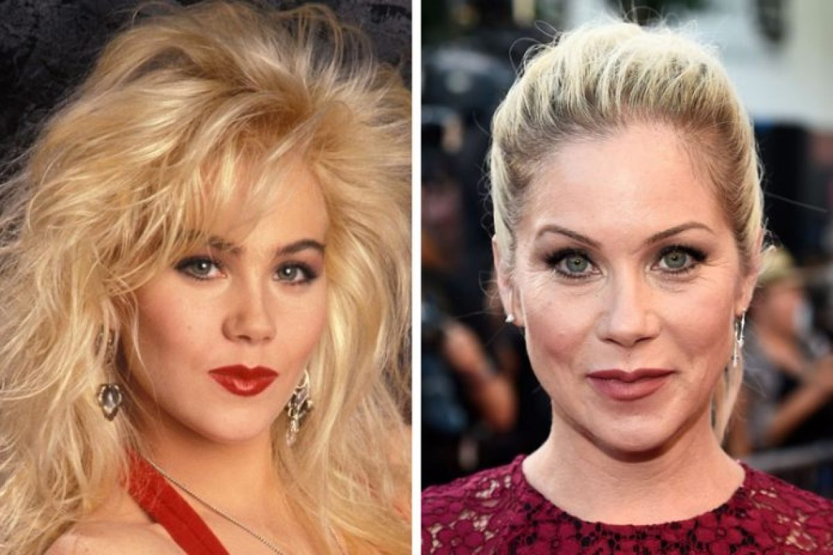 Married with Children: Christina Applegate as Kelly Bundy then and now