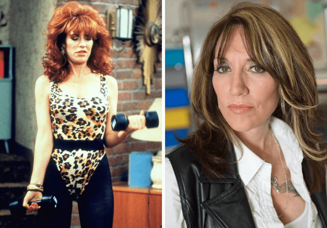 Married with Children: Katey Sagal as Peggy Bundy then and now