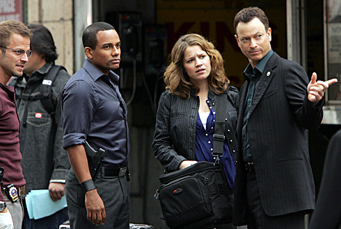 CSI: New York hill harper