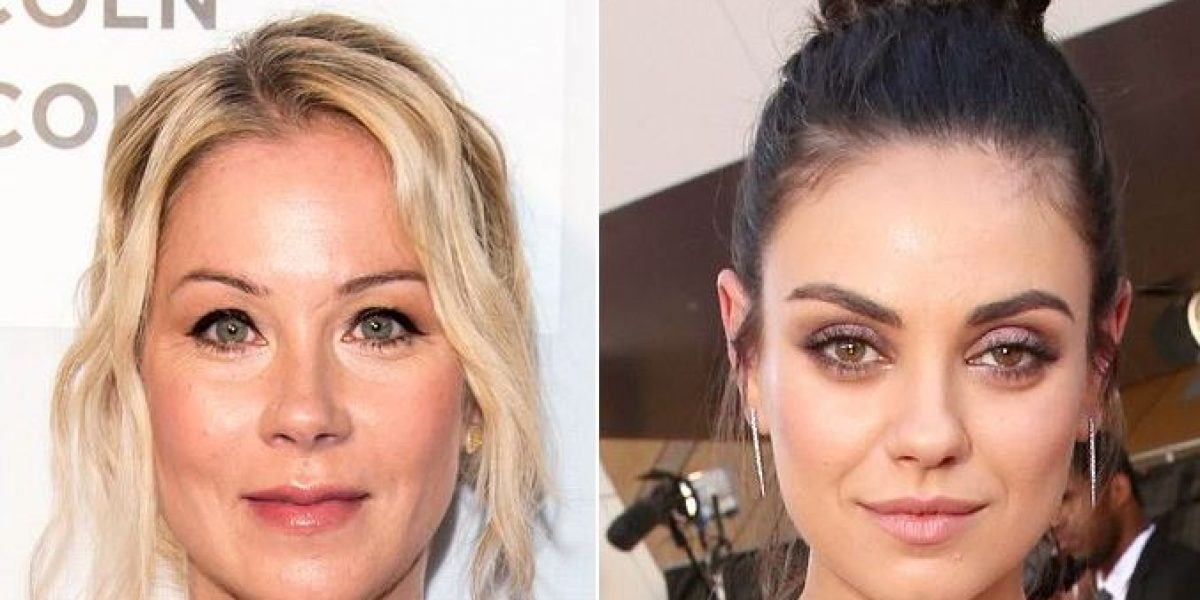 "Christina Applegate and Mila Kunis in movie ""Bad Moms"""