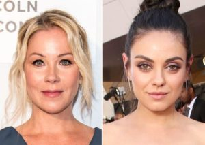 Christina Applegate and Mila Kunis in movie Bad Moms