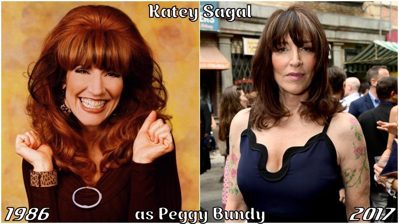 Katey Sagal peggy bundy then and now