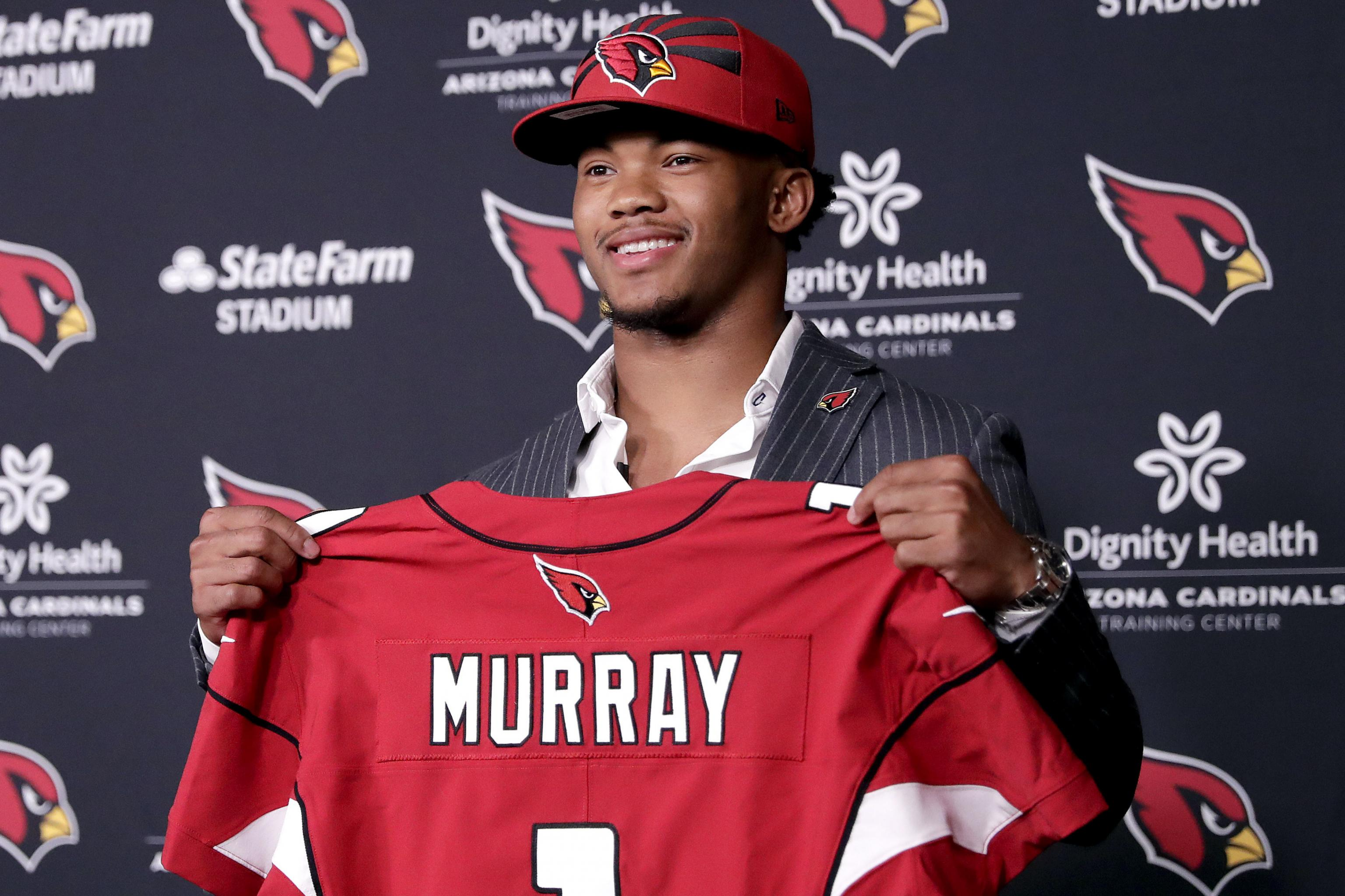 Kyler Murray signs $36 million rookie contract with the Arizona Cardinals