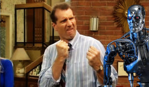 al bundy fights