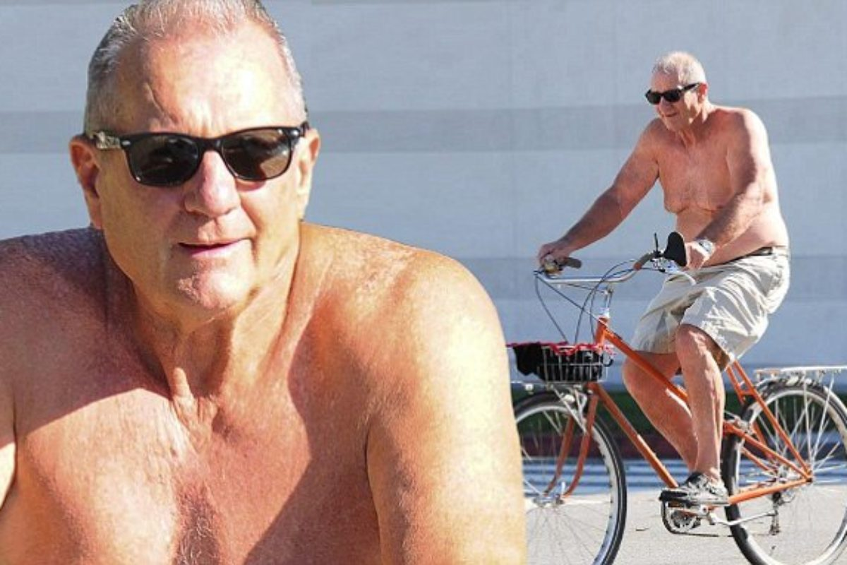 Ed O'Neill is going shirtless for bicycle ride to the beach with speed of only 50 mph