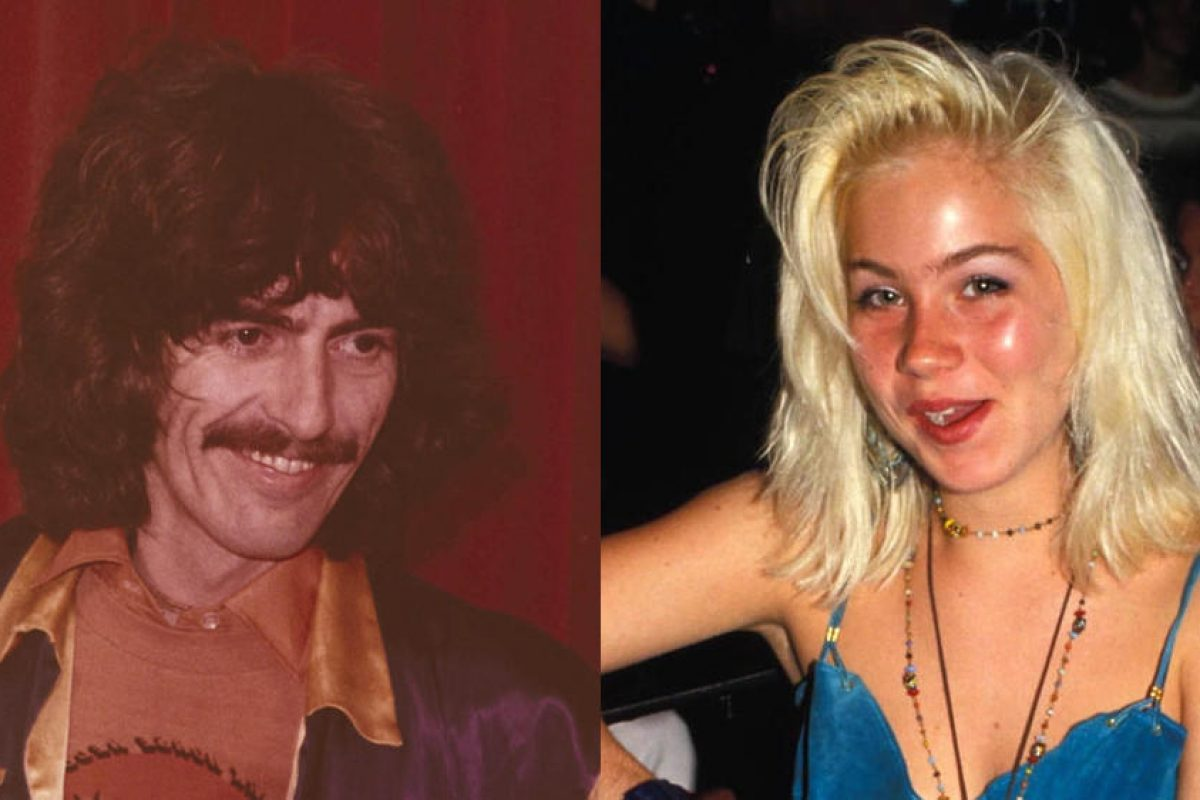 George Harrison was thrilled with Christina Applegate