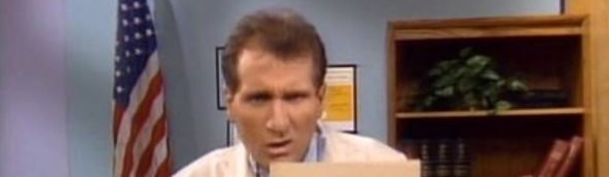 Married with Children: 976-SHOE – season four, episode eight
