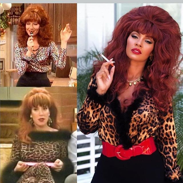 Evelyn Lozada as Peggy Bundy one