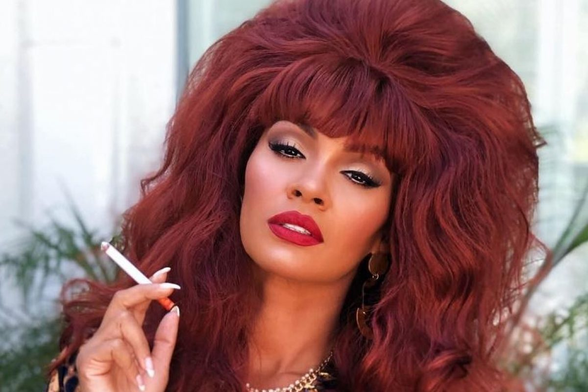 Evelyn Lozada as Peggy Bundy from MWC